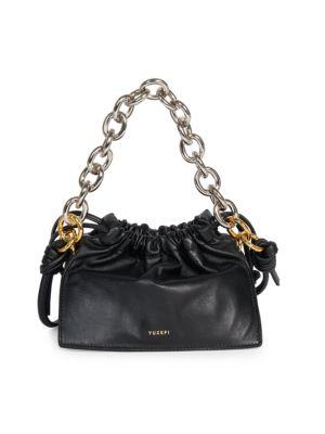 Bom Leather Shoulder Bag