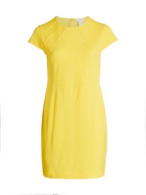 Stretch Pique Stitch Dress