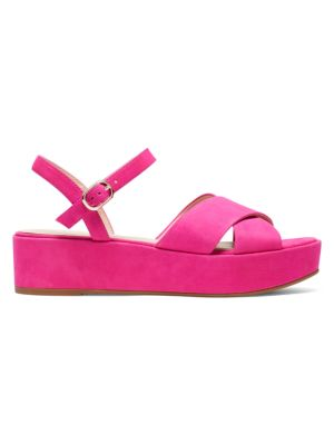 Bunton Suede Flatform Sandals