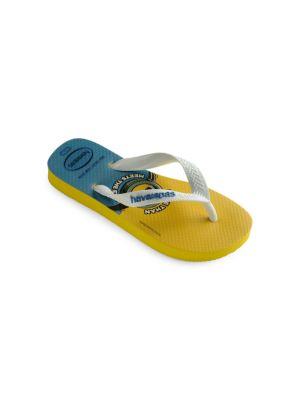 Little Boy's & Boy's Minions Flip Flops