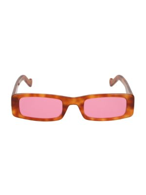 Trouble 52MM Rectangular Sunglasses
