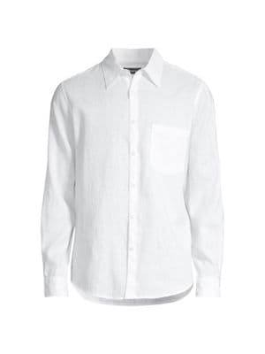 Irving Standard-Fit Linen Shirt