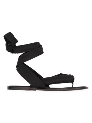 Recycled Tech Fabric Sandals