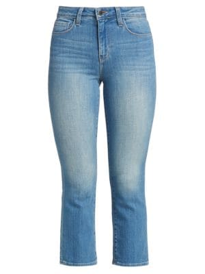 Nadia Straight Cropped Jeans