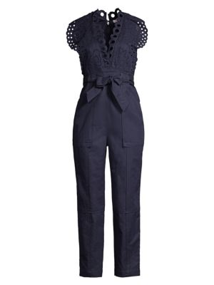 Ariana Embroidered Jumpsuit