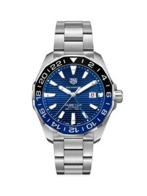 Aquaracer 43MM Stainless Steel Bracelet Watch