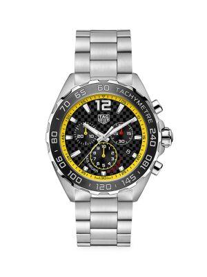 Formula 1 Stainless Steel Bracelet Chronograph Watch