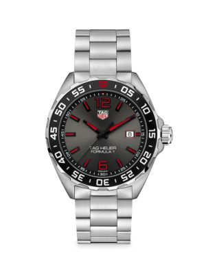 Formula 1 43MM Stainless Steel Quartz Bracelet Watch