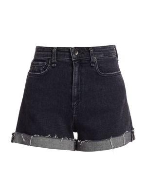 Nina High-Rise Denim Shorts