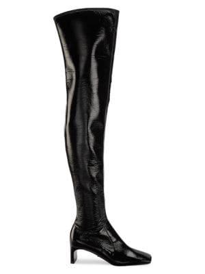 Naplak Square-Toe Tall Boots