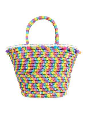 Raffia Multicolor Bag