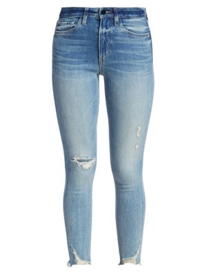 Charlie High-Rise Cropped Skinny Jeans