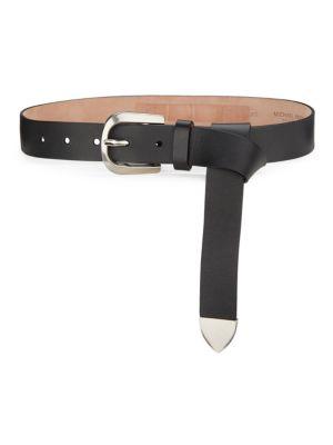 Loop Waist Leather Belt