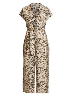 Jailee Leopard Jumpsuit