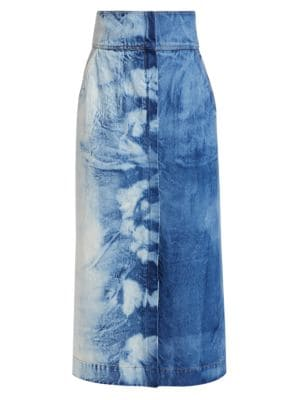 Doris Denim Maxi Skirt