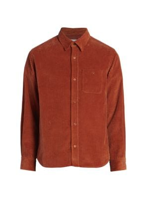 Button-Front Casual Shirt
