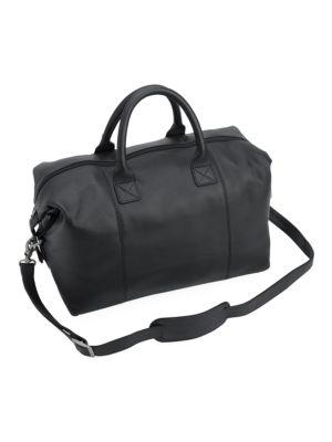 Executive Leather Duffel Bag