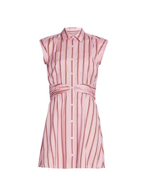 Cora Stripe Shirtdress