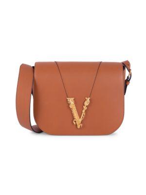 Virtus Leather Saddle Bag
