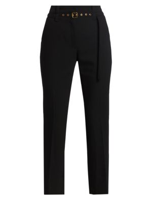 Tuxedo Suiting Belted Pants
