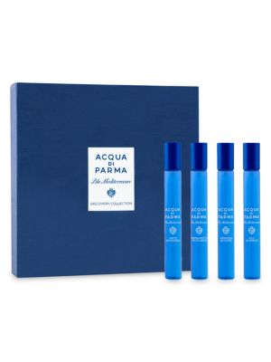 La Double J x Acqua Di Parma Limited Edition Blu Mediterraneo 4-Piece Discovery Roll-On Set