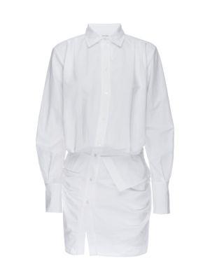 Asymmetrical Shirtdress