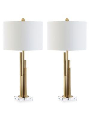 2-Piece Hopper Table Lamp Set