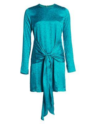 Eugene Knot-Front Mini Dress