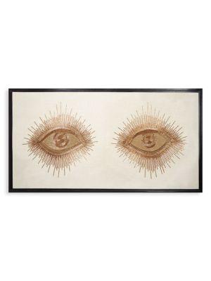 Eyes Beaded Wall Art