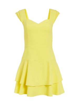 Brinda Double Ruffle A-Line Dress
