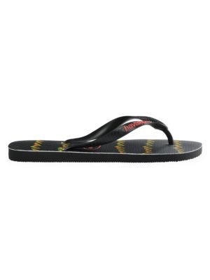 Top Stripe Flip Flops