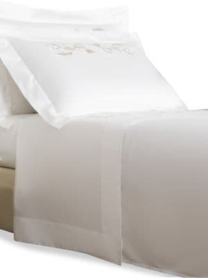 Tracery Embroidery 295 Thread Count 4-Piece Sheet Set