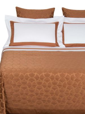 Lux Tile King Coverlet