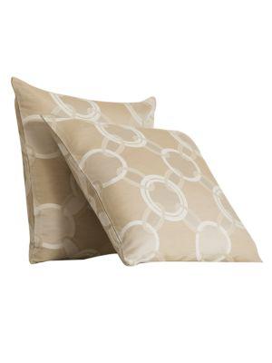 Lux Chains Silk-Cotton Decorative Cushion