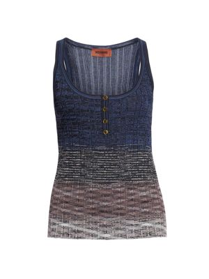 Ombre Knit Tank Top