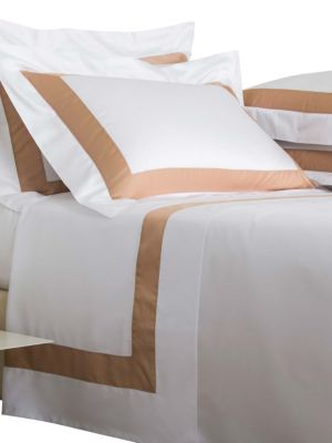 Bicolore 4-Piece Cotton Sateen Sheet Set