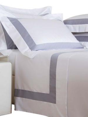 Bicolore 4-Piece Cotton Sateen Sheet Set