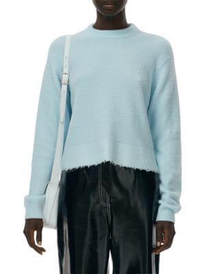Fondue Distressed Hem Sweater
