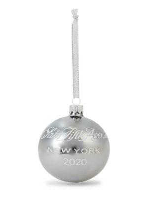 Logo Ball Holiday Ornament