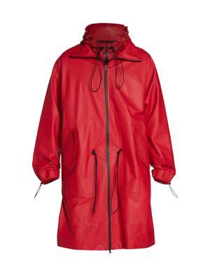 Matt Waterproof Leather Jacket