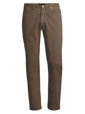 COLLECTION Cotton Stretch Five-Pocket Pants
