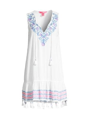 Totti Embroidered Cover-Up