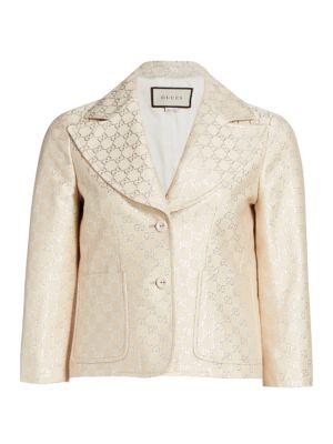 Light GG Lame Jacket