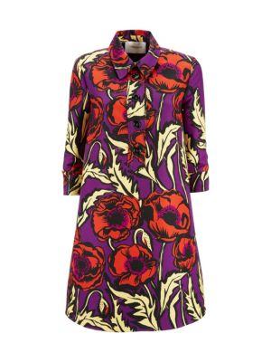 Artemis Floral Shirt Dress