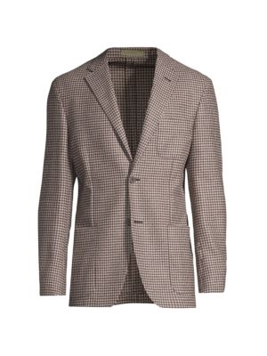 Trim-Fit Houndstooth Sportcoat