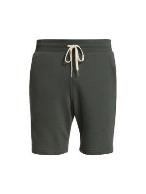Crimson Drawstring Shorts