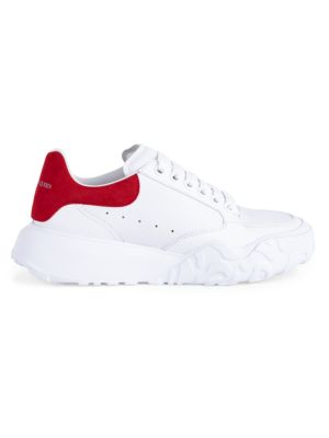 Women's Leather Court Sneakers