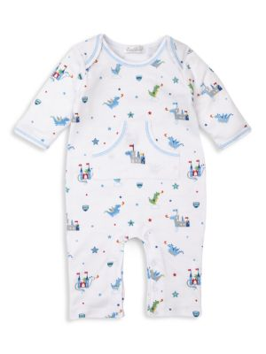 Baby Boy's Dragon Towers Print Playsuit