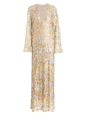 Dogliani Sequin Tunic Gown