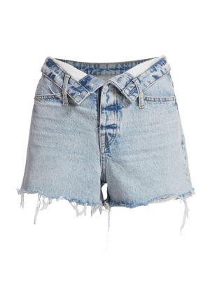 Bite Flip High-Rise Denim Shorts